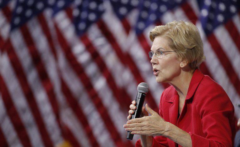 Resistencia de empresas no inquieta a Warren. La estimula.
