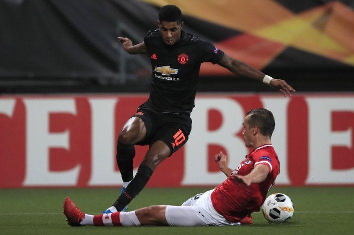 Man United tampoco encuentra el gol en Europa
