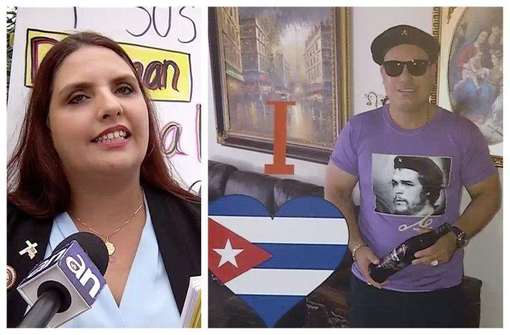 Angélica Pacheco aspirante a concejal de Hialeah dice que ella y su esposo no son comunistas