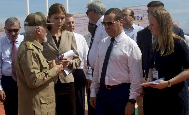 """Premier ruso considera a Cuba una """"isla de la libertad"""""""