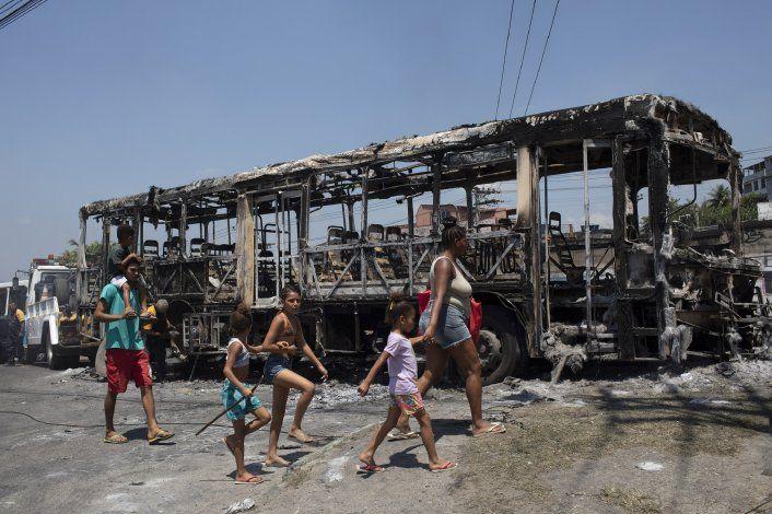 Brasil: al menos 3 muertos tras guerra de facciones en Río