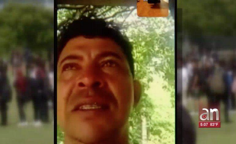 Padre del joven que murió salvando a dos personas quiere reingresar a EEUU para el entierro de su hijo