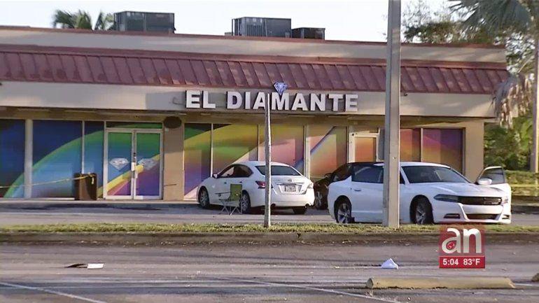 Un muerto y un herido dejó una balacera en un club nocturno de Homestead