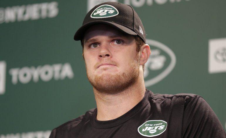Darnold, quarterback de Jets, descartado contra Eagles