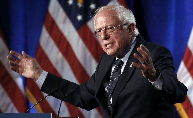 Bernie Sanders tuvo ataque cardiaco; ya fue dado de alta
