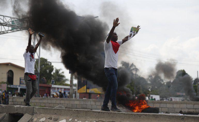 Haití se prepara para más disturbios tras fuerte protesta