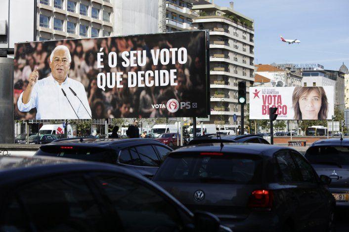 Gobierno socialista cerca de asegurar reelección en Portugal