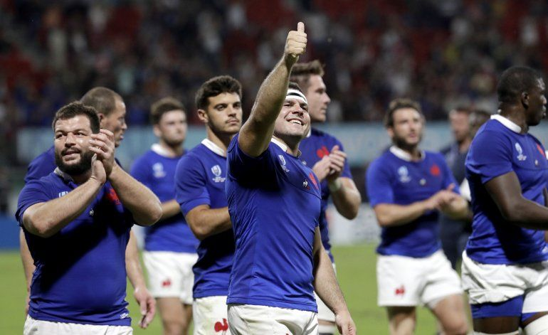Rugby: Francia derrota a Tonga y Argentina queda fuera