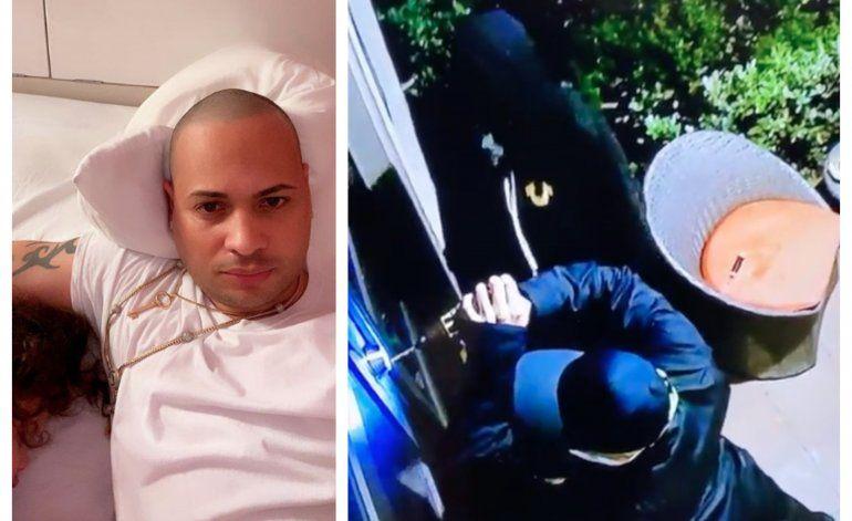 Roban en casa de Jacob Forever y La Dura en Miami y todo queda captado en cámara