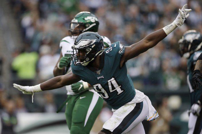 Defensa domina, Eagles aplastan a Jets