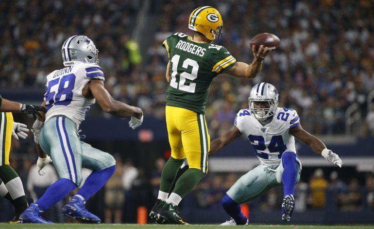 Rodgers y Packers dominan otra vez en casa de Cowboys