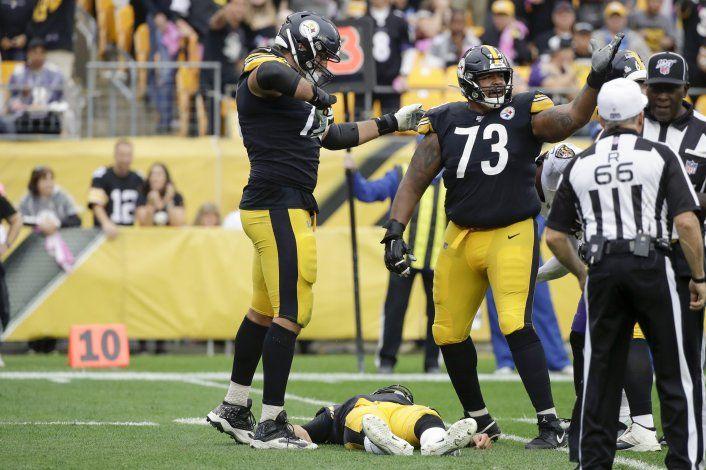 Ravens superan a Steelers, que pierden ahora a Rudolph