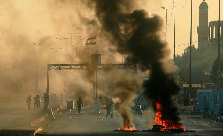 Irak: Seis días de disturbios cobran más de 100 vidas