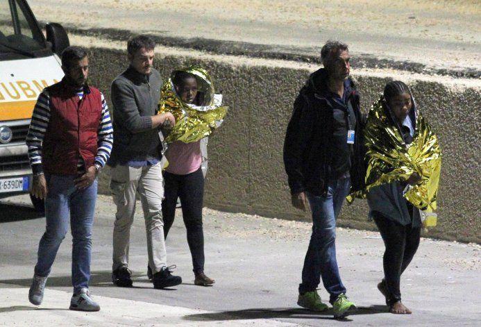 Al menos 13 muertos en un naufragio migrante cerca de Italia