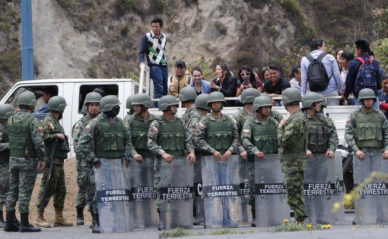 Lenín Moreno acusa a Maduro y Correa por crisis en Ecuador