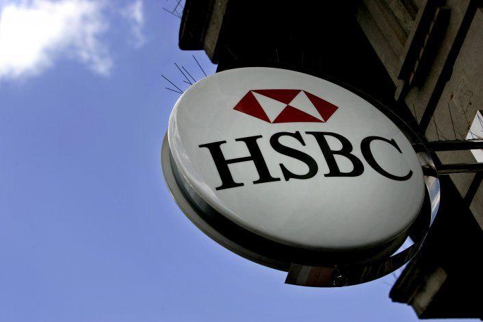 Reportan que HSBC recortará 10.000 empleos a nivel mundial