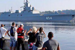 no habra barcos militares rusos que custodien a los tanqueros que transportan petroleo de venezuela a cuba