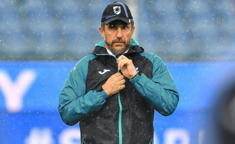 Di Francesco deja de ser técnico de la Sampdoria
