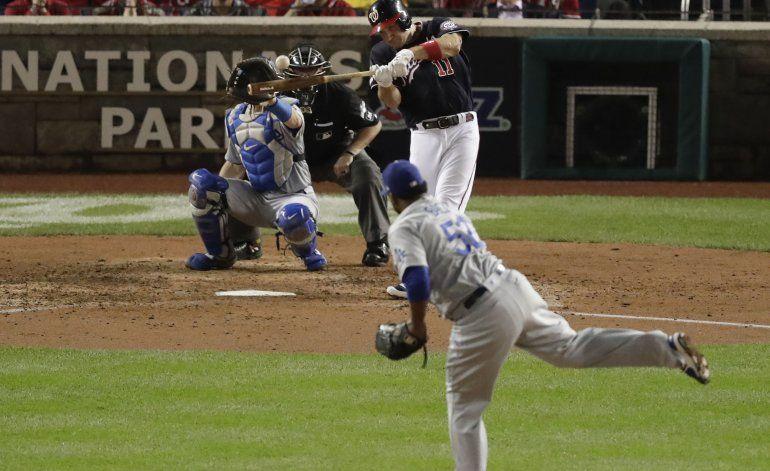 Scherzer, Zimmerman y Nacionales empatan serie ante Dodgers