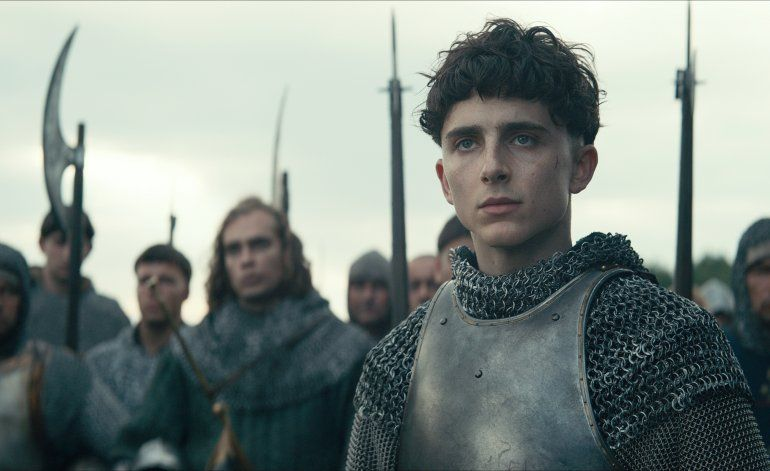 "Timothée Chalamet crece con ""The King"""