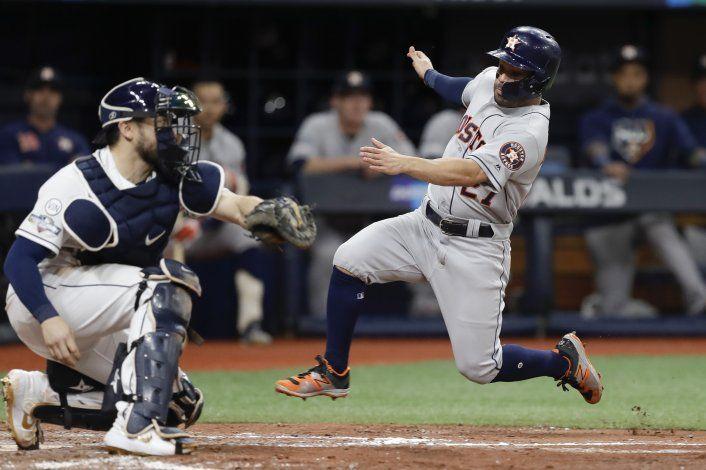 Rays atacan a Verlander; van a 5to juego ante Astros