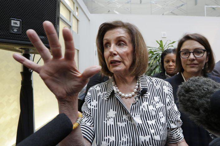Casa Blanca, demócratas pelean sobre normas de juicio