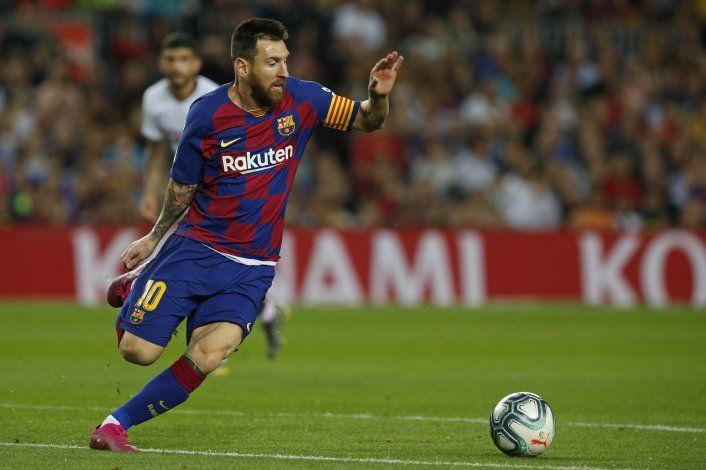 Messi contempló irse del Barcelona por caso de impuestos