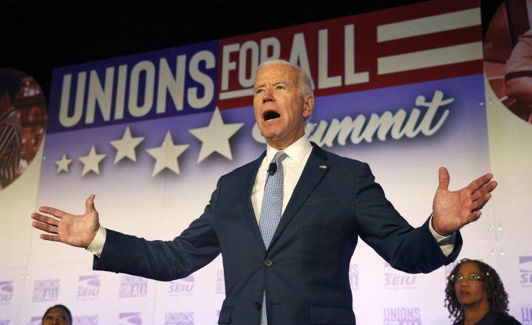 Biden apoya juicio político contra Trump por abuso de poder