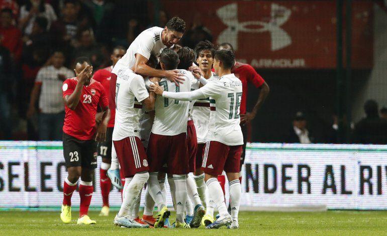 México debuta en Liga de Naciones sin apuros