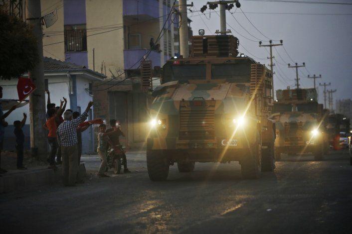 Turquía lanza operación militar contra kurdos en Siria