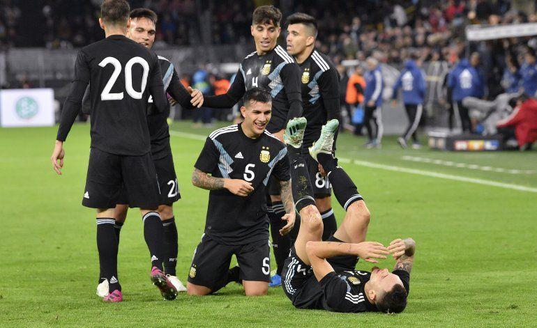 Argentina remonta y rescata empate 2-2 con Alemania