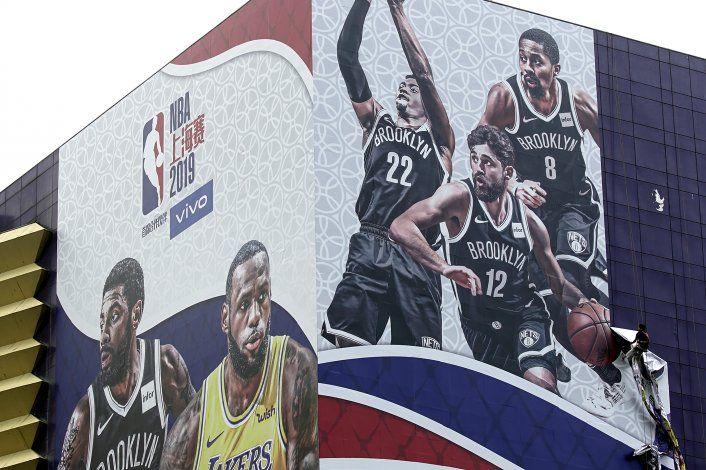 NBA pospone actividades de prensa de Lakers-Nets en Shanghái
