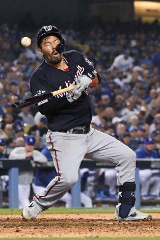 Con grand slam en la 10ma, Nacionales sepultan a Dodgers