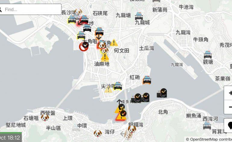 Apple retira una app en Hong Kong tras críticas de China