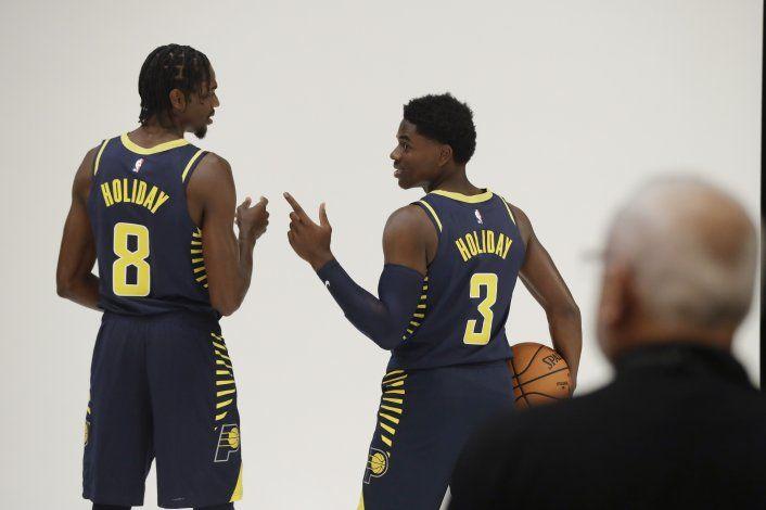 NBA: Pacers hacen efectivas opciones con Leaf y A. Holiday