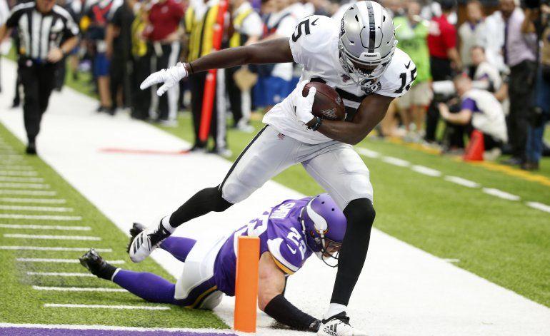 Raiders dan de baja al wide receiver J.J. Nelson
