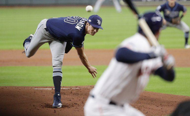 Rays finalmente sucumben ante Astros