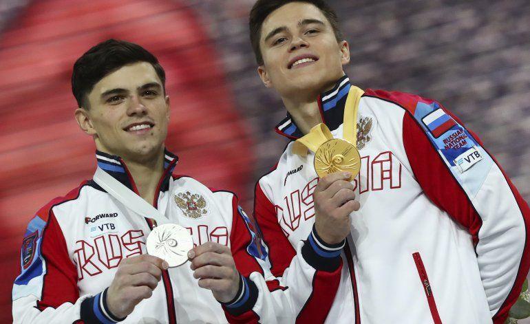 Ruso Nagornyy gana prueba combinada del Mundial de gimnasia