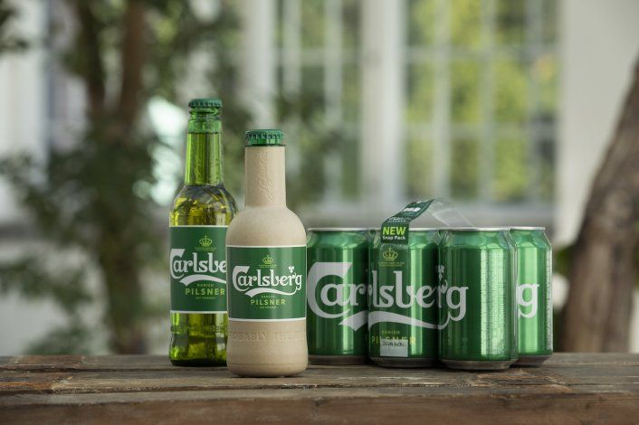 Carlsberg desarrolla botella de papel para cerveza