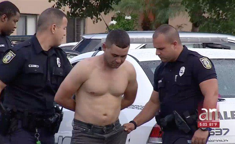 Arrestan a un hombre que ingresó a la fuerza en un apartamento de Hialeah y trató de secuestrar a su ex esposa