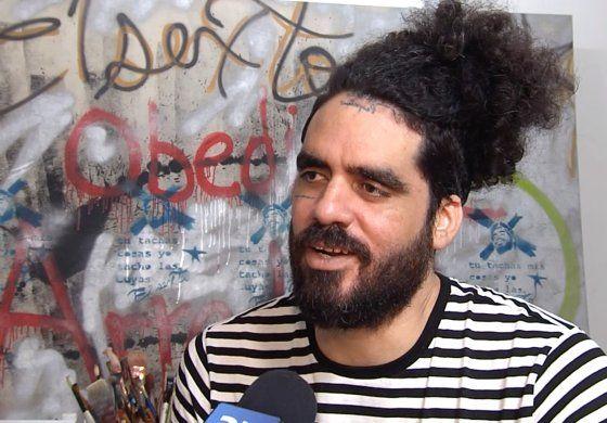 Artista opositor cubano sale de prisión tras un año preso en Estados Unidos