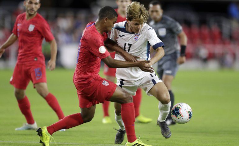 McKennie logra triplete y EEUU aplasta 7-0 a Cuba