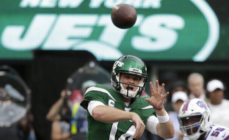 Darnold, de los Jets de NY, se muestra ansioso por regresar