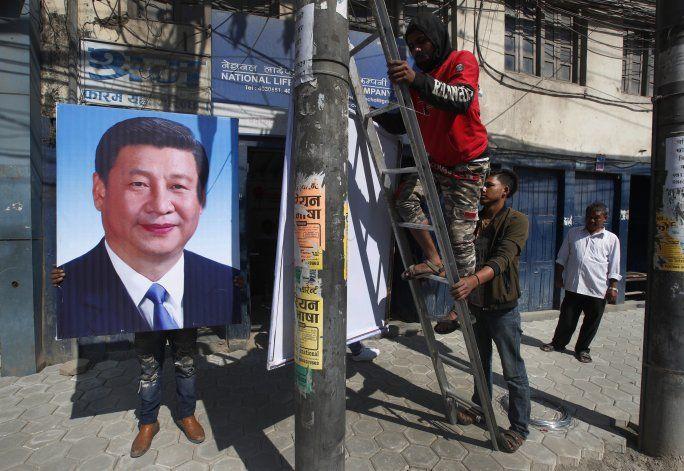 Xi arriba a Nepal, 1er presidente chino en dos décadas