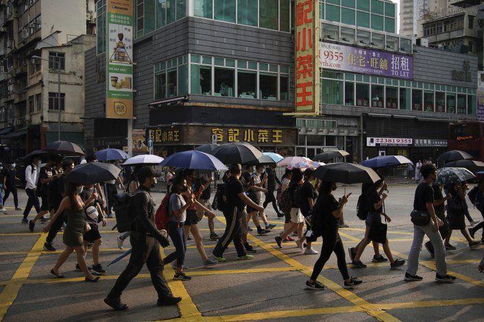 Colapso en confianza pública hacia la policía de Hong Kong