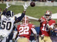 49ers permanecen invictos con triunfo 20-7 sobre rams