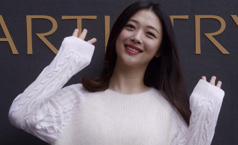 Sulli, estrella pop surcoreana, es hallada muerta en su casa