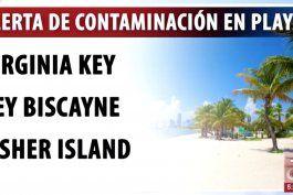 si piensa visitar la playa, tenga cuidado, ya que las autoridades han emitido una alerta de contaminacion con aguas residuales