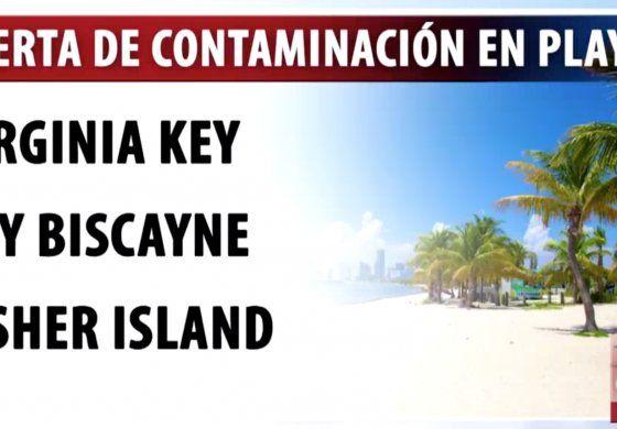 Si piensa visitar la playa, tenga cuidado, ya que las autoridades han emitido una alerta de contaminación con aguas residuales