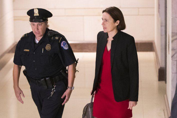 "Ex asesora: Bolton llamó a Giuliani ""granada de mano"""